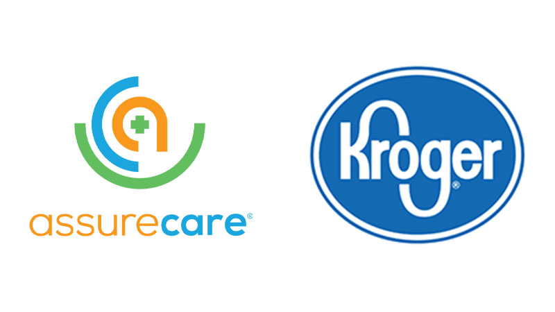 AssureCare and Kroger logos