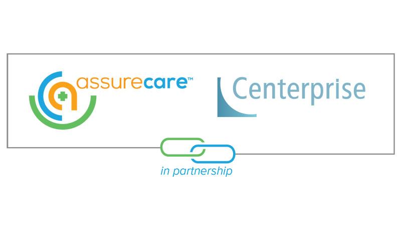 AssureCare and Centerprise logos