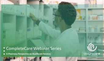 MTM Webinar Series: Pharmacist using tablet